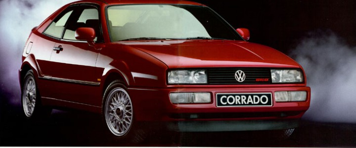 Рекламный буклет VW corrado 1991 год