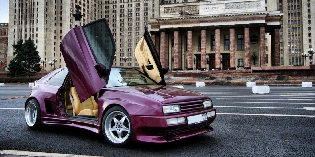 Москва - знаменитый Corrado GTO